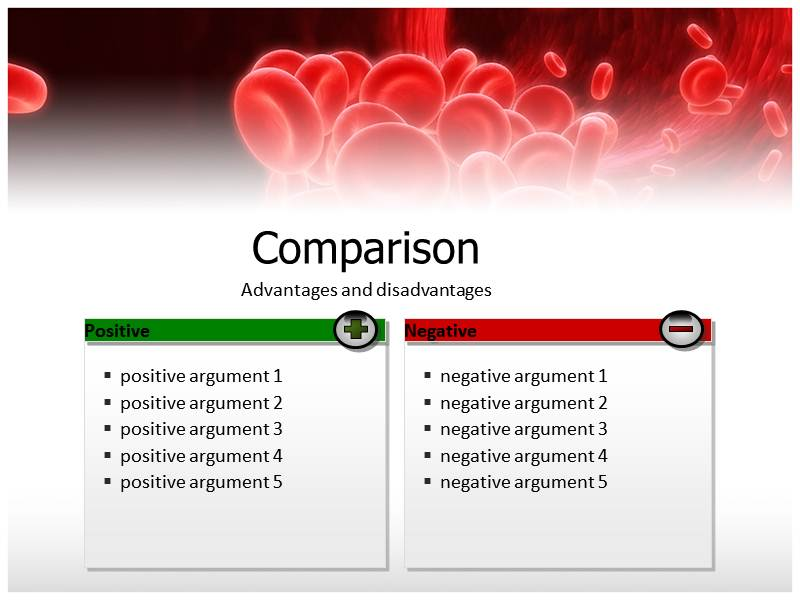 blood powerpoint templates and backgrounds