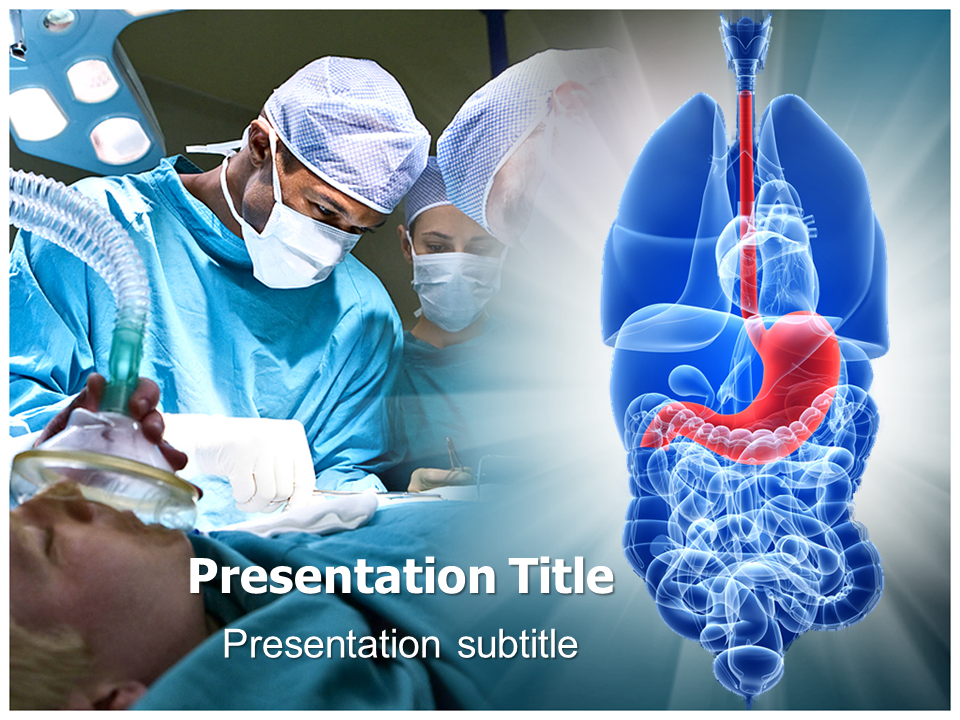 gastric surgery powerpoint templates and backgrounds