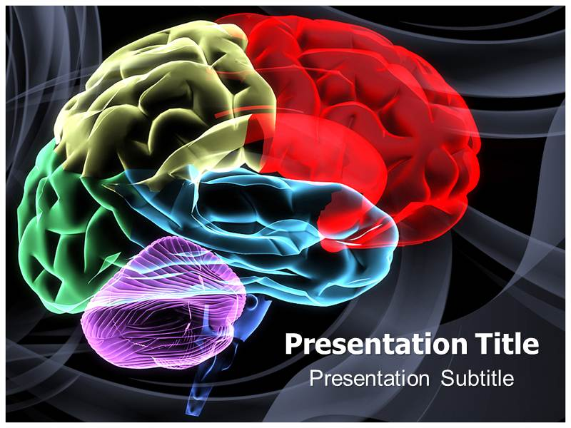 Image of colorful brain with powerpoint templates backgrounds of download toneelgroepblik Choice Image