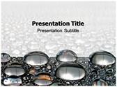 Metal Balls powerPoint template