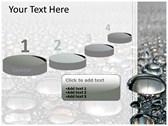 Metal Balls powerpoint template download