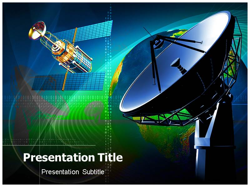 Satellite radio powerpoint templates and backgrounds download toneelgroepblik Gallery