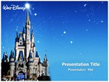 Disney World Template PowerPoint, Disney World PowerPoint Background Templates