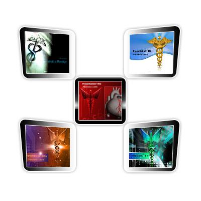 Medical powerpoint templates - Medical Logo Template Bundle