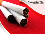 Cigarettes Templates For Powerpoint