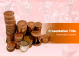 Gold Coins PowerPoint Themes