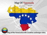 Map Venezuela Templates For Powerpoint