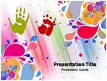 Holi Abstract Templates For Powerpoint