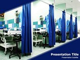 Hospital Beds Templates For Powerpoint
