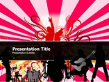 Retro Pop Art Templates For Powerpoint