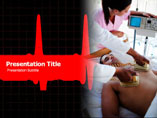 shock Therapy powerpoint template