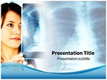 Nurse with X Ray Templates For Powerpoint