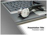 Online Medical Databases  PowerPoint Template