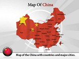 Map of China Templates For Powerpoint