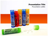 Homeopathic Pills Templates For Powerpoint