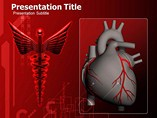 Animated Heart Logo PowerPoint Designs