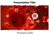Red chronic lymphocytic leukemia Templates For Powerpoint