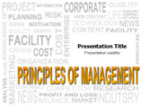 Principle of Management Templates For Powerpoint