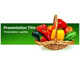 Vegetable Basket Templates For Powerpoint