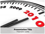 Year End Business Review PPT Layouts