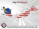 Maps of Malaysia Templates For Powerpoint