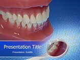 animated ppt  templates - Dentistry
