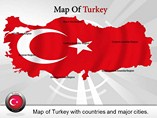 Map Turkey Templates For Powerpoint