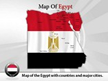 Map of Egypt Templates For Powerpoint