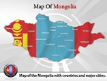 Mangolia Map Powerpoint (PPT) Template