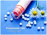 Homeopathy Medicine  PowerPoint Template