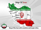 Iran Map Powerpoint Template