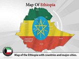 Ethiopia Map (PPT) Powerpoint Template