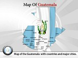 Map of Guatemala Templates For Powerpoint