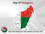 Madagascar Map (PPT) Powerpoint Template