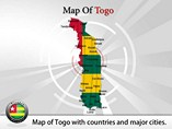 Togo Map (PPT) Powerpoint Template