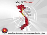 Vietnam Map (PPT) Powerpoint Template