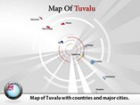 Tuvalu Map Powerpoint Template