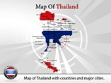 Thailand Map Powerpoint Template