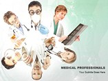 Medical Professionals Design - PPT Template