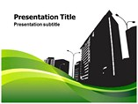 City Silhouette PowerPoint Themes