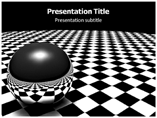 Black Background Powerpoint Template