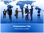 Silhouettes Powerpoint Template