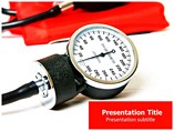 Blood Pressure (PPT)Powerpoint Template