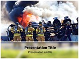 Fire Department PowerPoint Layouts