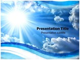 Light from Sun PowerPoint Graphics