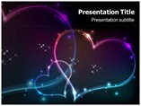 Stars and Hearts Powerpoint Template
