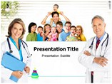 Family Healthcare Templates For Powerpoint