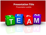 Teamwork in Office PowerPoint Backgrounds