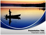 Animal powerpoint templates-Fishing