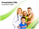Family Health Care Templates For Powerpoint